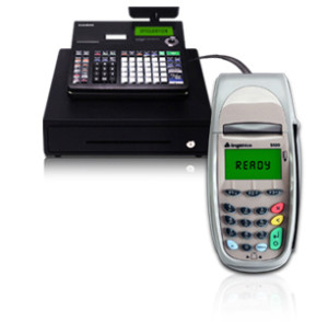 Cash Register Credit card Terminal